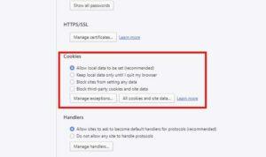 فعال کردن کوکی در اپرا نسخه دسکتاپ